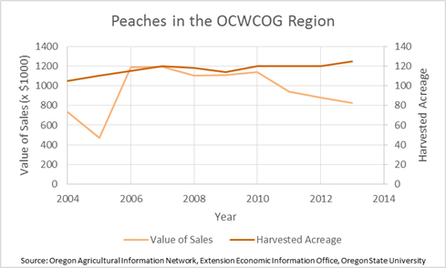 Peaches in the Region