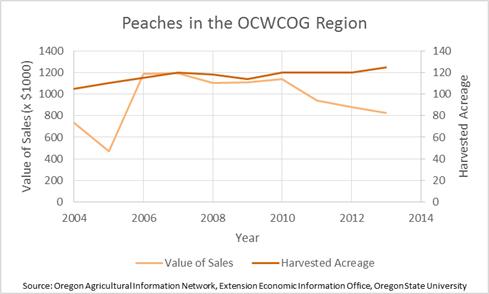 Peaches in the Region