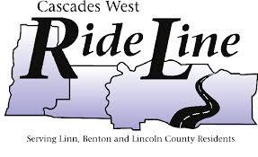 Cascades West Ride Line Logo
